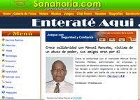 Abuso de poder contra Manuel Emilio Mancebo Méndez recorre el mundo