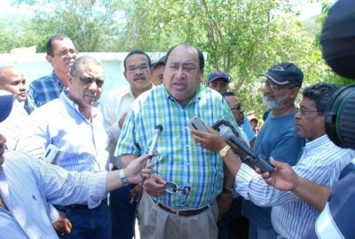 INDHRI reinicia los trabajos de reparación de diques y canales del Sur