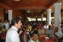 Diputado PRSC elige equipo campaña en busca reelección en comicios 2010