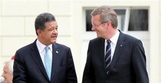 Mandatario alemán define a Fernández como ancla del Caribe
