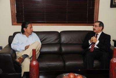 Danilo y Toledo pasan revista a los acontecimientos económicos y sociales que afectan región