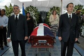PRD rinde honores al ex presidente Jorge Blanco