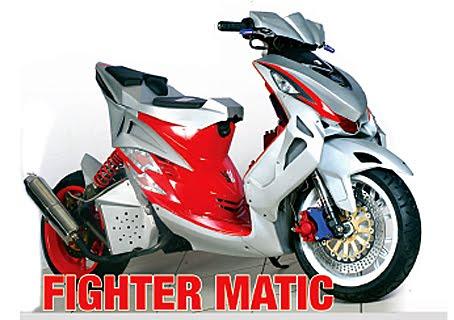 motor sport edition: Modifikasi Yamaha Mio 39;08