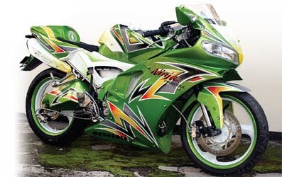 Modifikasi Ninja on Modifikasi Kawasaki Ninja Rr 2010   Motorcycle Modifications   Zimbio