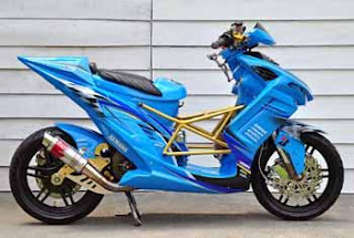 MODIFICATION YAMAHA MIO