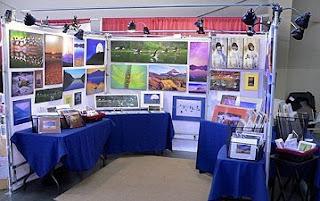 Indoor Booth (c) 2009 John Ashley