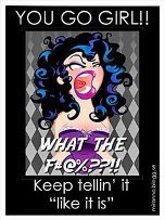 Keep tellin' it..
