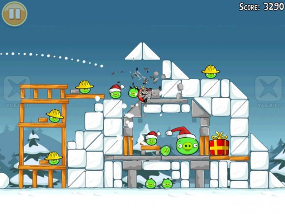 Teh Gay Geek Angry Birds Christmas Version Coming To An