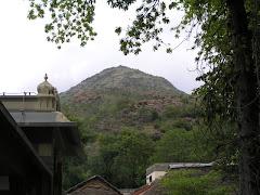 View from Ramana Ashram
