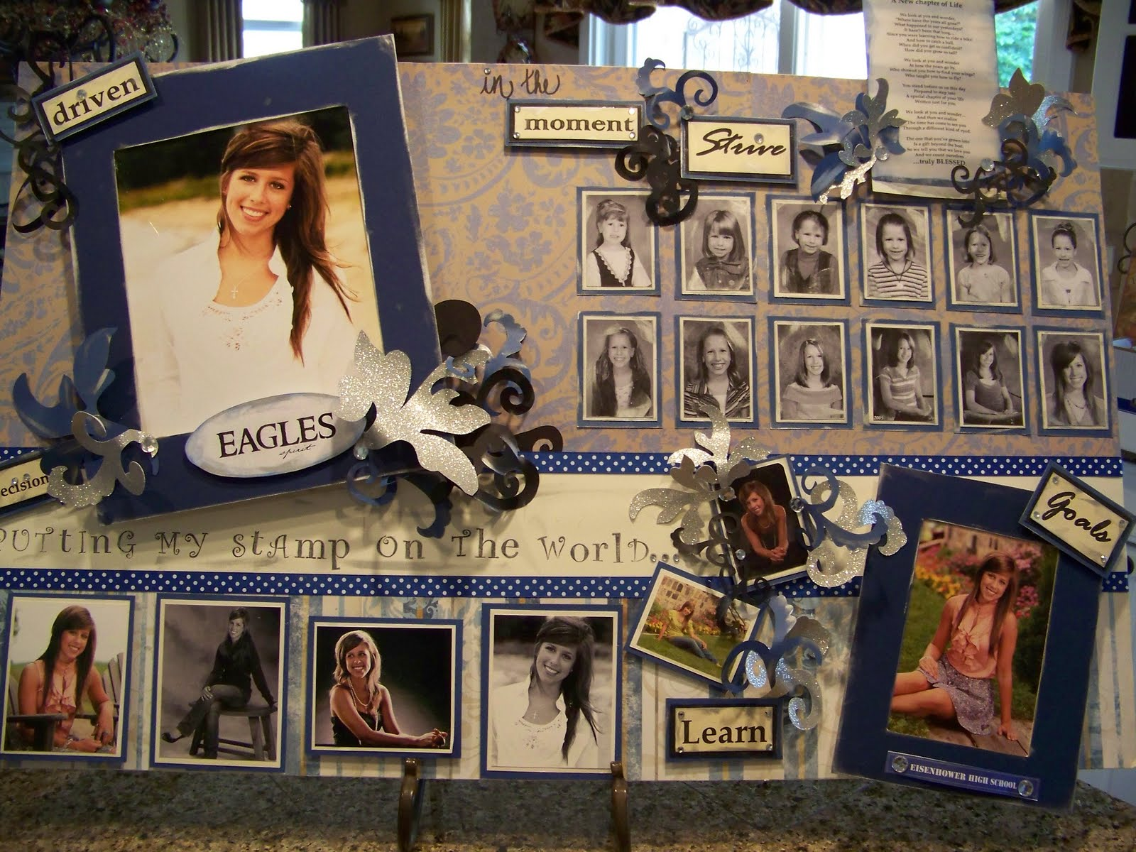 Creations from my heart: Graduation Memory Boards