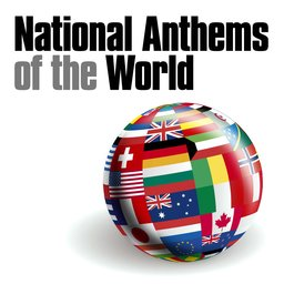 National Anthem of Different Countries Word over