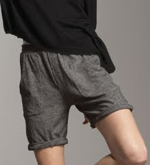 Knit Jogging Style Shorts