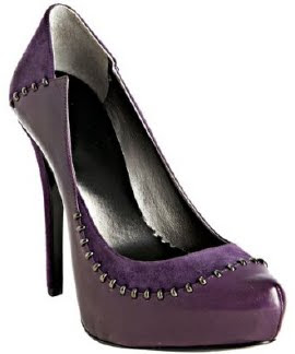 Stitched Together Pumps