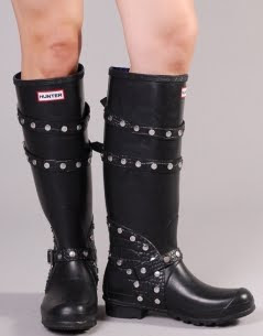 Biker Studded Wellies