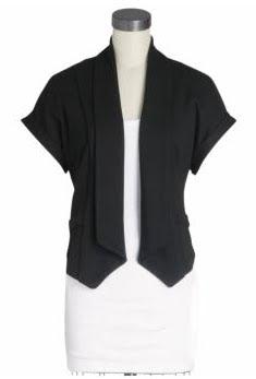 Kimono Sleeve Knit Blazer