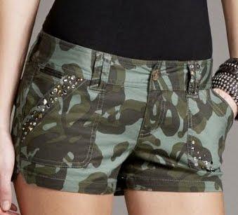 Flower Camo Shorts