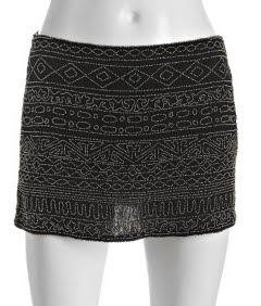 Beaded Tribal Skirt