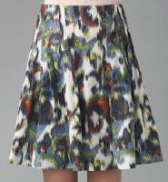 Paisley Ikat Skirt
