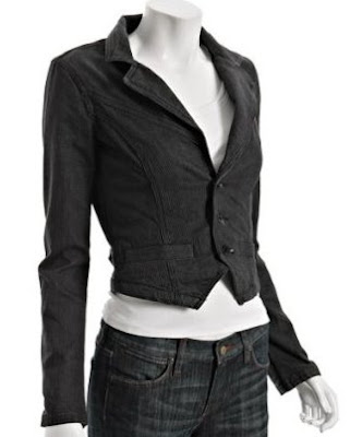 Dark Denim Blazer