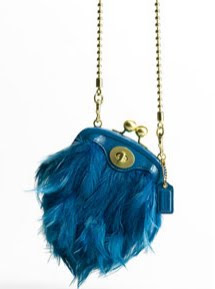 Feather Mini Purse