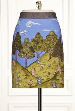 Monkey Forest Skirt
