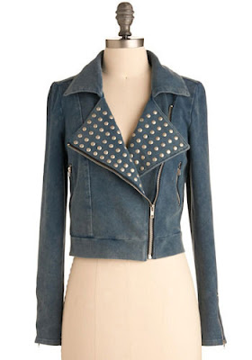 Studded Lapel Jacket