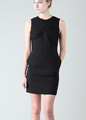 Phillip Lim Asymmetrical Twisted Bust Dress