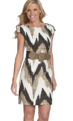 Ethnic Print Sheath