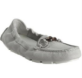 Grey Moccasin Loafers