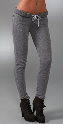 Skinny Fleece Sweats