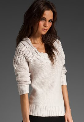 Chunky Strong Shouldered Sweater