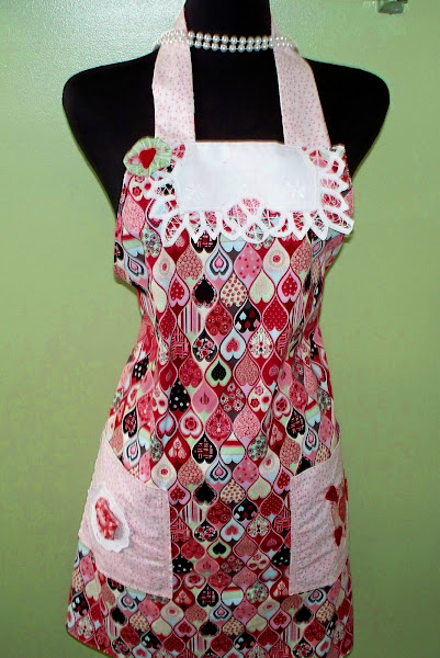The apron I made for theFlirty/Sassy Swap!