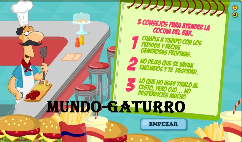 Mundo gaturro nuevo juego - Juegos de cocina con niveles ...