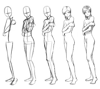 How to Draw Anime Body Poses