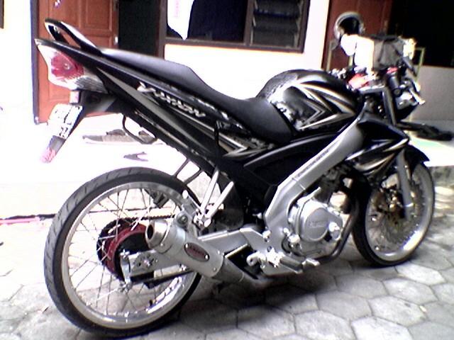 Modif Yamaha Vixion Drag