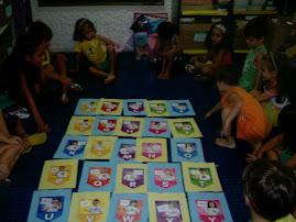 descobrindo as letras de nossos nomes!!!