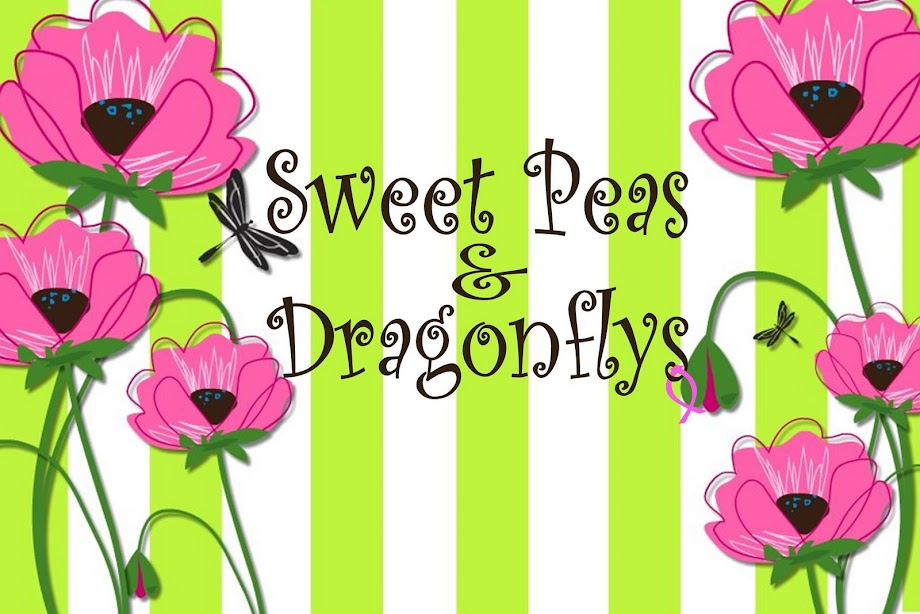 Sweet Peas & Dragonflys