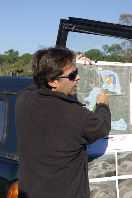 Steve Pisano leads a field trip to Winding Waters Natural Area