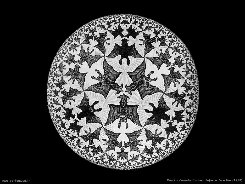 Prylar maurits cornelis escher for Escher metamorfosi