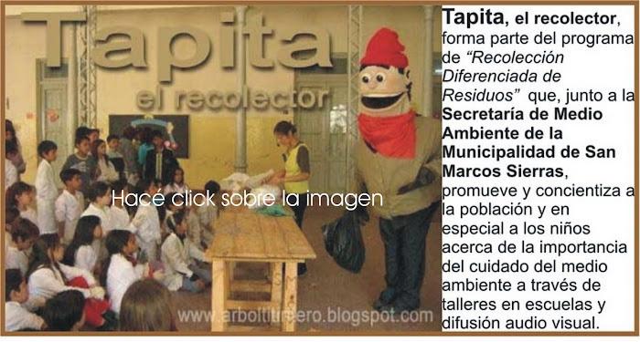 Títeres GIGANTES!!! Tapita, el recolector