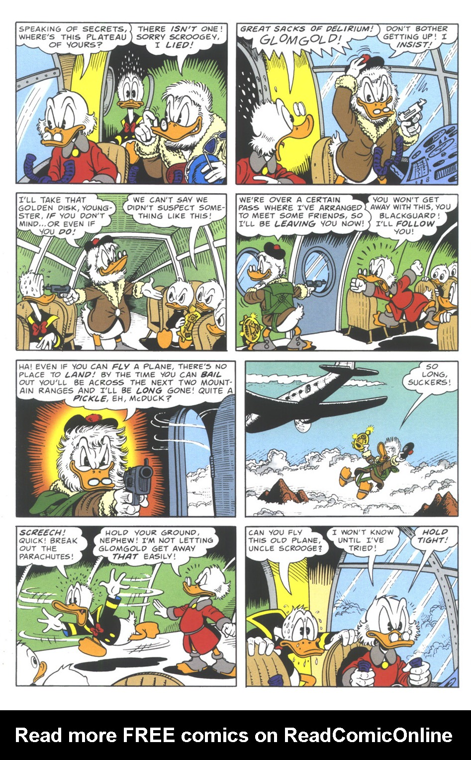 Uncle Scrooge (1953) Issue #335 #335 - English 10