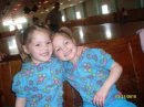 My twin nieces Kaylee and Kelsey