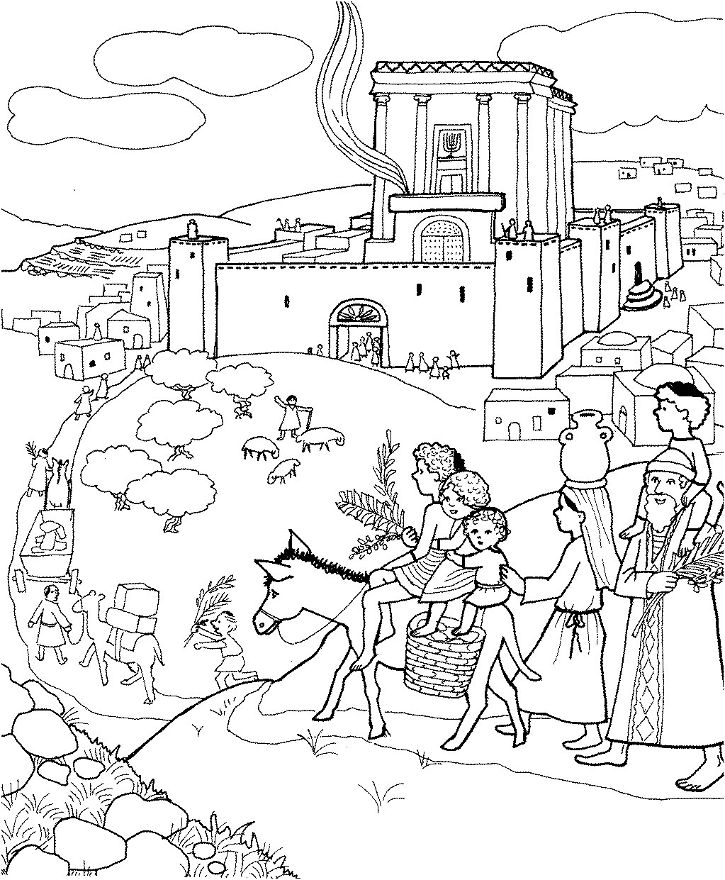 Apple Seed Coloring Pages