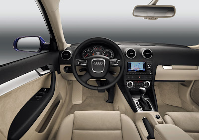 2011 Audi A3 Sportback Interior