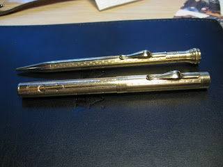 Salz pen and pencil set from the 1920s. Image from PENS PAPER INKSWHATEVER!