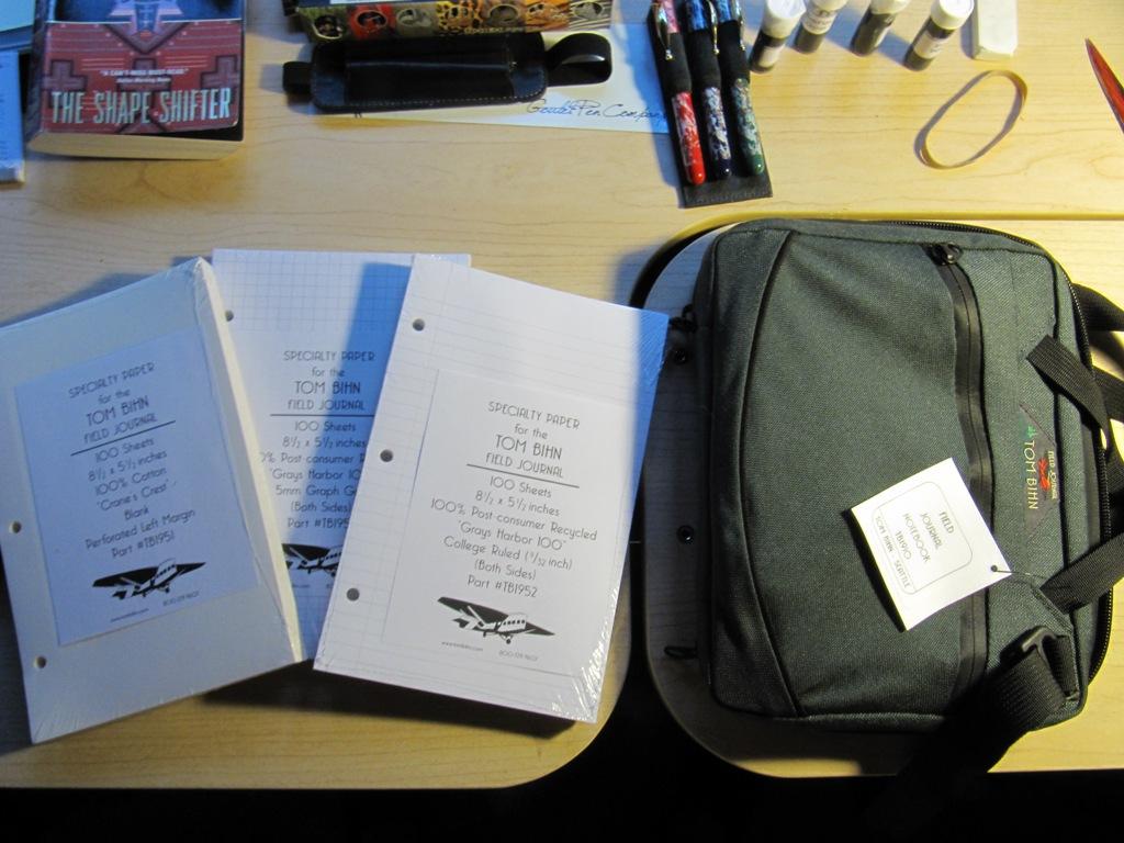 tom bihn field journal notebook