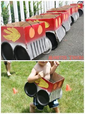 monster truck costume instructions