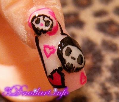 3D Nail Arts Design