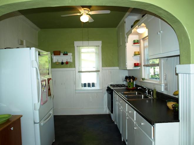 fresh, fun kitchen