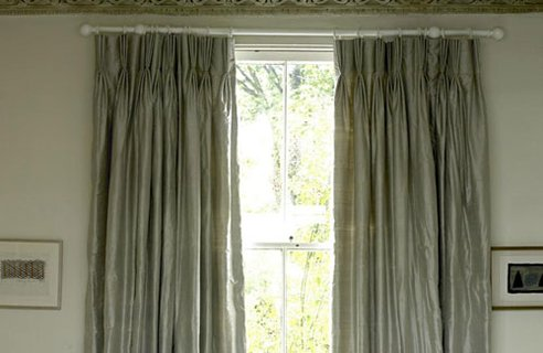 Photo Pocket Shower Curtain Sheer Curtains for Decor